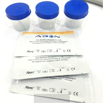 Drug Test Kit, THC and Meth 5pcs with Urine Cups
