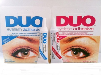 Duo Eyelash Adhesive Eyelash Glue Waterproof False Eyelash WhiteSet Of 2