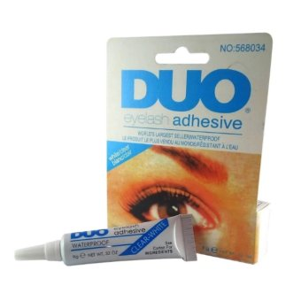 Duo Eyelash Adhesive Eyelash Glue Waterproof False Eyelash(White&Blue)