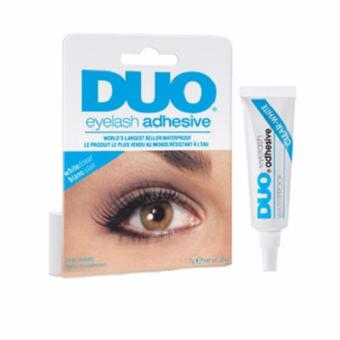 DUO Eyelash Adhesive Eyelash Glue Waterproof - WHTE