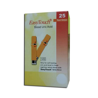 EasyTouch GCU Strips Blood Uric 25's