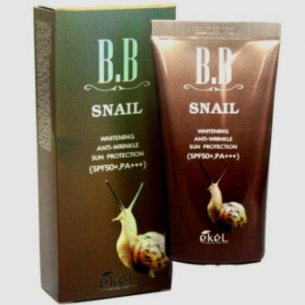 Ekel Snail BB Cream 50ml (SPF50+ PA+++) Korean Cosmetics