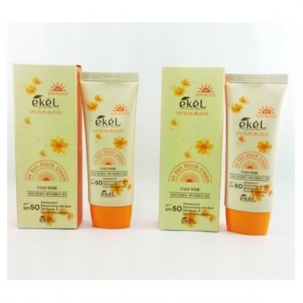 Ekel UV Sun Block (1 + 1) Korean Cosmetics