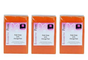 Elizabeth Pearl Kojic Acid Soap 90g- 3-piece Set