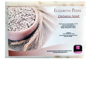 Elizabeth Pearl Milk and Oatmeal Soap 150g