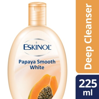 ESKINOL DEEP CLEANSER PAPAYA SMOOTH WHITE 225ML .
