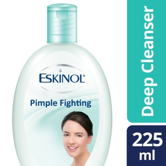 ESKINOL DEEP CLEANSER PIMPLE FIGHTING 225ML .