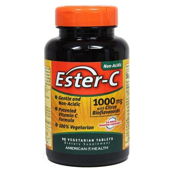 Ester-C Non-Acidic Vitamin C 1000mg with Citrus Bioflavonoids, 90Tablets Price Philippines