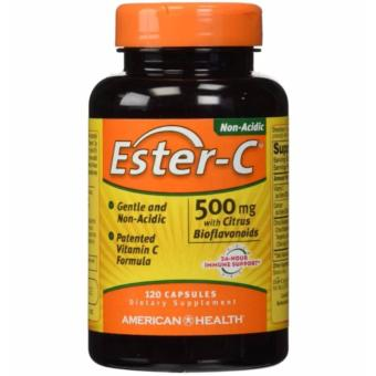 Ester-C Non-Acidic Vitamin C 500mg with Citrus Bioflavonoids, 120Capsules Price Philippines