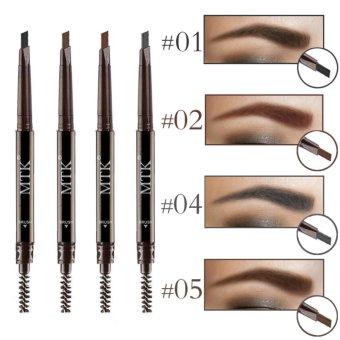 Eye Brow Tint Cosmetics Eyebrow Enhancer Paint Tattoo EyebrowPencil Waterproof Black Brown Makeup Eyebrow Shadow Pencil - intl - 2