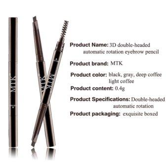 Eye Brow Tint Cosmetics Eyebrow Enhancer Paint Tattoo EyebrowPencil Waterproof Black Brown Makeup Eyebrow Shadow Pencil - intl - 3