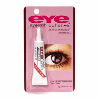 Eye Eyelash Adhesive Glue Waterproof False Eyelash (White&Red)