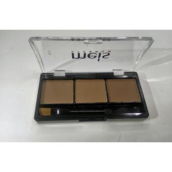 Eyebrow Powder Palette With Brush #01