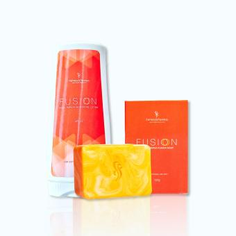 Fairness & Flawless Fusion Kojic Papaya whitening duo lotion +soap