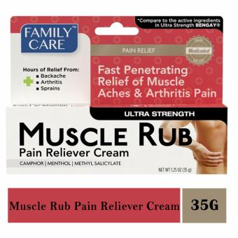 Family Care Muscle Rub Pain Reliever Cream Price Philippines