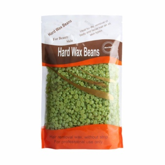 Fancyqube HOT !300g No Strip Depilatory Hot Film Hard Wax Pellet Waxing Bikini Hair Removal Bean Navy - intl - 5