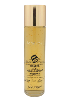Farmstay Honey & Gold Wrinkle Lifting Essence (AUTHENTIC)