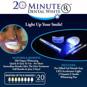 Fast Working Highly Effective 20 Minutes Dental White teethWhitening