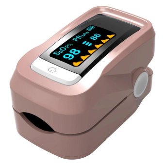 Fingertip Finger Blood Oximeter Oxygen SPO2 Pulse Heart Rate Monitor Oximeter - intl