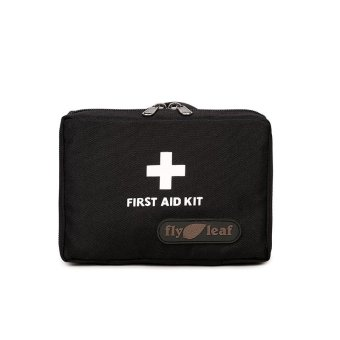 First Aid Kit Bag Portable First Aid Medicine Organizer Handbag -Black - intl