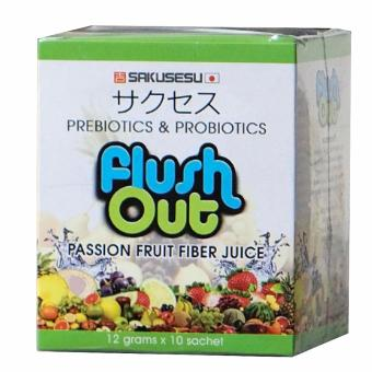 Flush Out Colon Cleanse Prebiotics & Probiotics