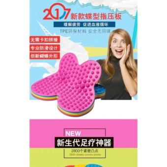 FUTZUKI REFLEXOLOGY FOOT RELIEF MAT(As Seen On TV)(Buy 1 Take 1)