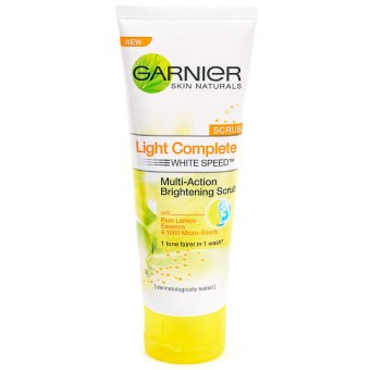 Garnier Light Complete Deep Whitening Facial Scrub 100ml Price Philippines