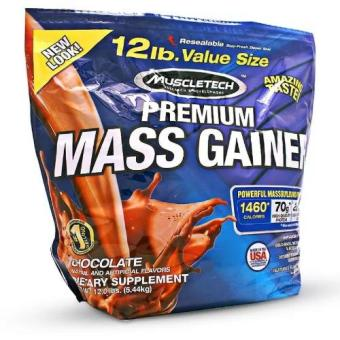 Genuine Sealed Muscletech Premium Mass-gainer with Powerful Muscle-building formula 12lbs Chocolate