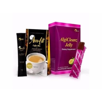 GFOXX AlgiCleanz Slimming Jelly Fat Blocker Best with Am-fit Coffee5 Sachets