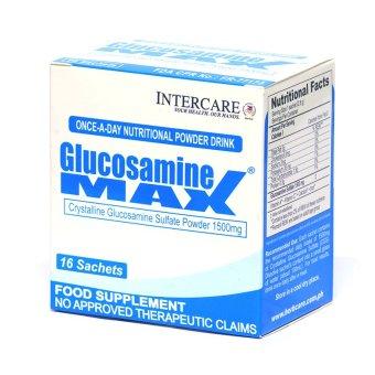 Glucosamine MAX Glusosamine Sulfate Powder 1500mg Sachet Box of 16