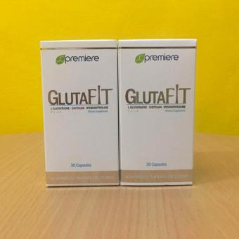 Gluta Fit 500mg Vegetable Capsule Bottle of 30 (Set of 2)