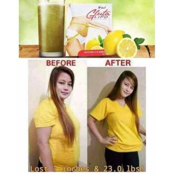 Gluta Lipo Iced tea lemon juice
