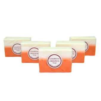 Glutathione Whitening Beauty Soap Set of 5