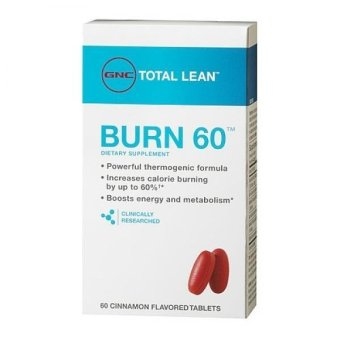 GNC Burn 60 with Cinnamon 60's