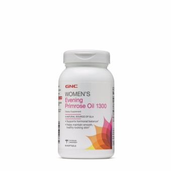 GNC Women's Evening Primrose Oil 1300mg 90 Softgels