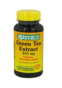 Good 'N Natural Green Tea Extract 315mg Capsules Bottle of 100