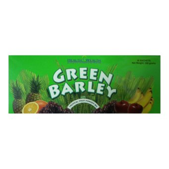 Green Barley Tropical Food Powder Mix, 30 sachets Price Philippines