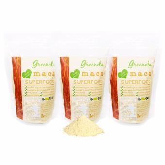 Greenola Organic Maca Powder 100g Set of 3