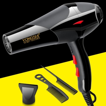 Hair Dryer Home High Power Hair Dryer Negative Ion Hair Salon Barber Shop Dormitory Hot and Cold Wind Blower Mute - intl