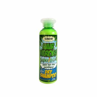 Hair Heroes Super Fresh No-Rinse Dry Shampoo Sage, Tea Tree and Peppermint 60g