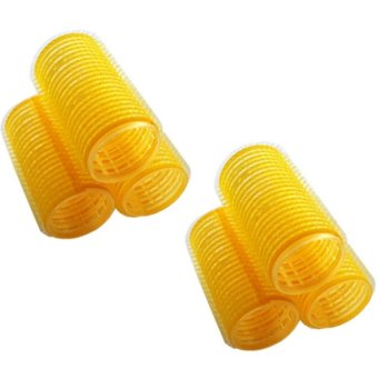 Hair Rollers (Magnetic Big) Yellow Price Philippines