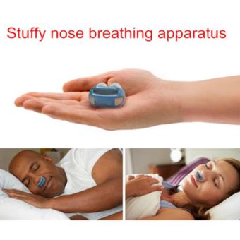 Hanyu New Portable Anti-Snore Mouthpiece Blue - 4