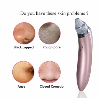 HB Electric Pore Cleaner Acne Pimple Nose Blackhead Suction RemoverMachine