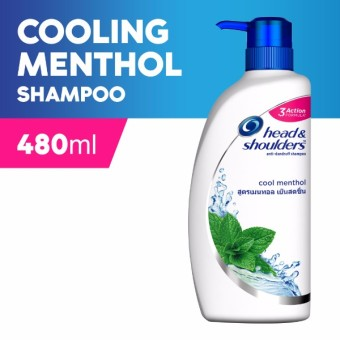 Head & Shoulders Shampoo Cool Menthol 480ml
