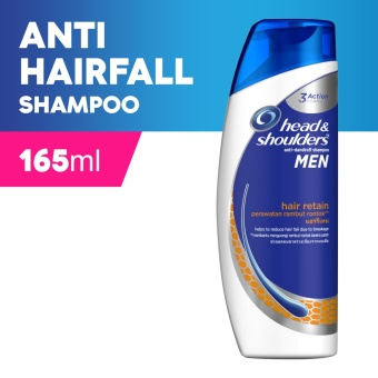 Head & Shoulders Hair Retain Shampoo for Men 165ml