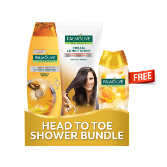Head to Toe Shower Bundle (Gold)