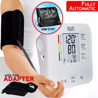 Healthy Choices Automatic Blood Pressure Monitor - Fully Automatic Digital Blood Pressure Monitor
