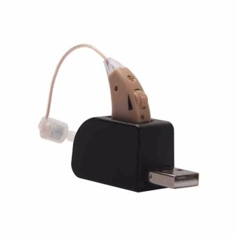 Hearing Aid Easy To Carry For Elderly Better Hearing Aid Small AndConvenient Behind The Ear Hearing Aid Good Sound - intl