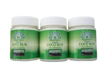 Heaven's Care Coco Rub Eucalyptus 50g Set of 3 Price Philippines