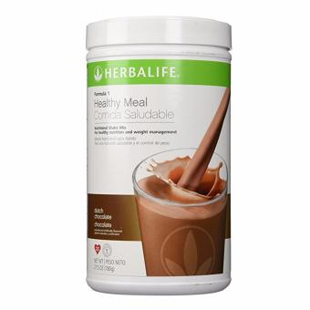 Herbalife F1 Slimming Nutritional Shake Mix 550g Canister (Dutch Choco)) - 4
